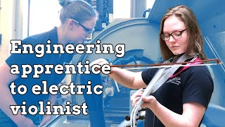 Download Engineering apprentice to electric violinist Video