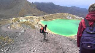Download Tongariro Alpine Crossing - Dad & Daughter Video