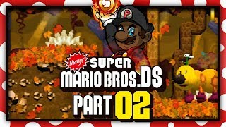 Download NEWER Super Mario Bros. DS w/ @PKSparkxx! - Part 2 | ″The Wiggler of Eternity″ (World 1) Video