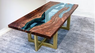 Download Live Edge River Table | Woodworking How-To Video