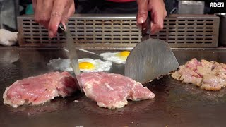 Download Taiwan Street Food: Chicken Teppanyaki Video