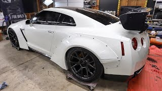 Download The GTR gets a Carbon Fiber Wing and Some New Wheels! Video