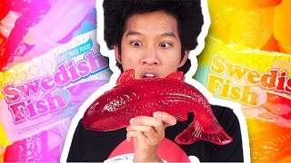 Download DIY HOW TO MAKE GIANT SWEDISH FISH!!! Video