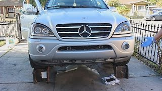 Download How to Change Transmission Fluid & Filter on a Mercedes | ML55 | W163 Video