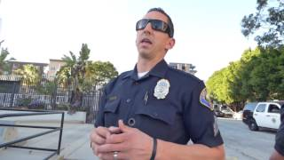 Download Long Beach Police Dept: COP FAILS, FORCED TO RETREAT, 1st Amend Audit w CA Guardian Video