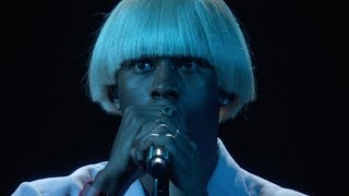 Download Tyler, The Creator - EARFQUAKE / NEW MAGIC WAND (Live at the 2020 GRAMMYs) Video
