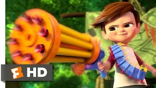 Download The Boss Baby (2017) - Tim vs. Baby Gang Scene (3/10) | Movieclips Video