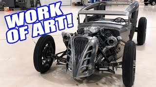 Download Dynoing & Ripping This Twin Turbo Coyote Rat Rod! Video