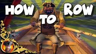 Download SEA OF THIEVES - How to Row a Rowboat - Controls Explained for PC/XBOX Video