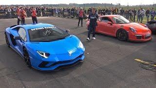 Download Lamborghini Aventador S vs Porsche 991 GT3 RS Video