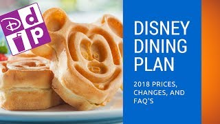Download Disney Dining Plan 2018 Prices, Changes, and FAQs Video
