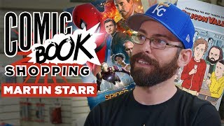 Download Spider-Man: Homecoming & Silicon Valley's Martin Starr Goes Comic Book Shopping with Collider Video