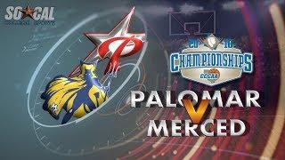 Download CCCAA Women's Basketball Quarterfinal: Merced vs Palomar - 3/8/18 - 1pm Video