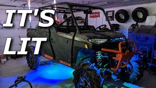 Download Fixing MUDLYFE and installing EIGHT 5150 rock lights! Video