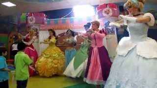 Download PrincesShow Show de Princesas en Monterrey : Cenicienta - Rapunzel - Mérida - Jazmín Video