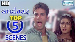 Download Best 2000's Romantic Movie - Top 5 Scenes From Andaaz - Akshay Kumar, Lara Dutta and Priyanka Chopra Video