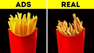 Download FOOD IN COMMERCIALS VS. IN REAL LIFE Video