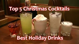 Download Top 5 Christmas Cocktails Best Holiday Drinks Video