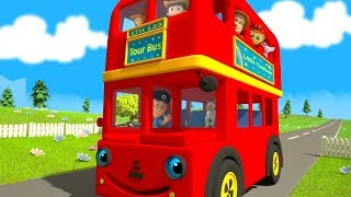 Download Wheels On The Bus | More Nursery Rhymes & Kids Songs by Little Treehouse Video