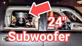 Download NOW PLAYING: 24″ Subwoofer Demo Video