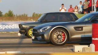 Download ВАЗ 2107 Турбо Amag vs AMG GT vs Porsche 911 GT3 vs 911 Turbo S Video