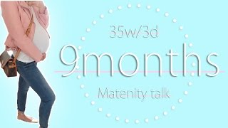 Download 【妊娠経過報告】出産直前の妊婦さんってどんな感じ??【9ヶ月】 Video