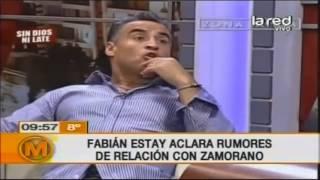 Download Fabián Estay aclara rumores de relación gay con Zamorano Video