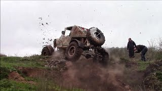 Download Jeep - Panda 43'' 800Hp - DynaTrac 80/80 **Extraordinary OFF-ROAD Monster** Video