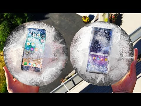 hqdefault iPhone 8 vs Note 8 Freeze and Drop Test! Which Will Survive?? Video