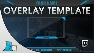 Download Photoshop Stream Overlay Template | all Colors | Free Download! Video