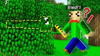 Download BALDI NUNCA MAIS ME ACHAR NA FLORESTA! (MINECRAFT) Video