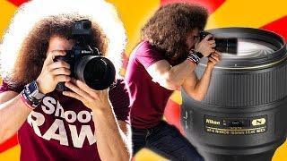 Download Nikon 105mm F1.4 ″Real World Review″: The BEST Sharpest Portrait Lens I've Ever Used Video