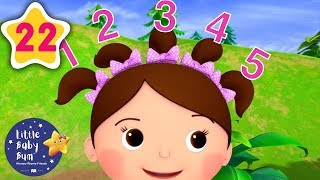 Download Number 5 Song   + 22 Minutes of Nursery Rhymes   Learn With LBB   #howto Video