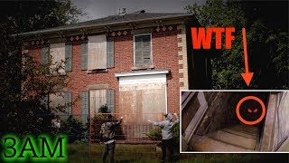 Download CRAZY FOOTAGE // SNEAKING INTO A DEMON HAUNTED HOUSE (WE FOUND THIS!!) 3AM CHALLENGE Video