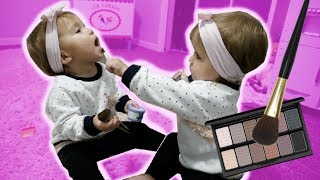 Download MAKEUP FOR THE FIRST TIME *DISASTER* Video