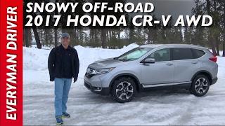 Download Off-Road (FAIL): 2017 Honda CR-V AWD on Everyman Driver Video