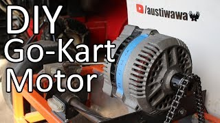 Download Converting a Car Alternator into a Go Kart Motor Video