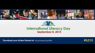 Download International Literacy Day Video
