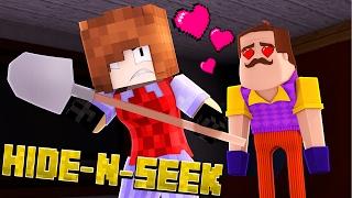 Download NEIGHBOR HAS A WIFE?! Minecraft Hello Neighbor HIDE N SEEK Video