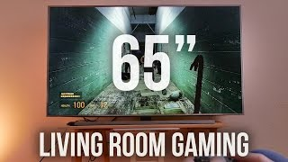 Download INSANE Gaming on 65-inch 4K TV!!! Video