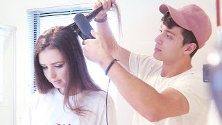 Download MY FIANCE TRIES TO DO MY HAIR Video