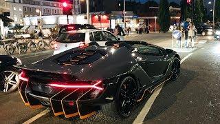 Download $5MILLION Lamborghini Centenario Roadster CAUSES CHAOS in London! Video