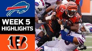 Download Bills vs. Bengals | NFL Week 5 Game Highlights Video