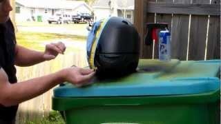 Download Plasti Dip a motor cycle helmet: Part 3 Video