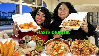 Download Blovelee tries Indian Food for the first time Video