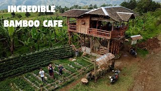 Download AMAZING BAMBOO CAFE IN THE PHILIPPINES (Filipino Inspiration and Strawberries) Video