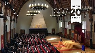 Download Commemorative Ceremony Marking the 20th Anniversary of the OPCW Video