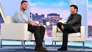 Download Tim Tebow Shares John 3:16 Story Video
