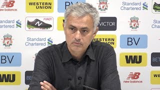 Download Liverpool 0-0 Manchester United - Jose Mourinho Full Post Match Press Conference - Premier League Video
