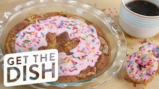Download Doughnut Bread Pudding | Get the Dish Video